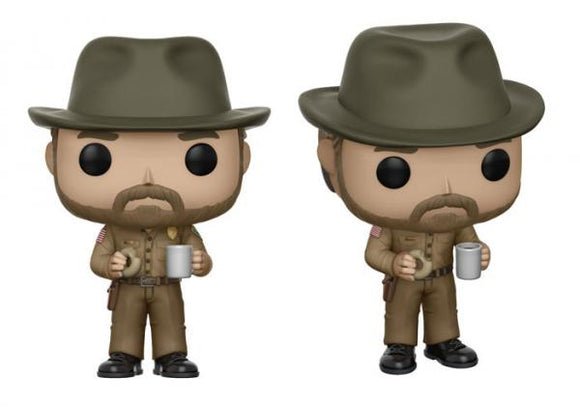 Stranger Things Officer Jim Hopper Funko Pop! Vinyl Figure