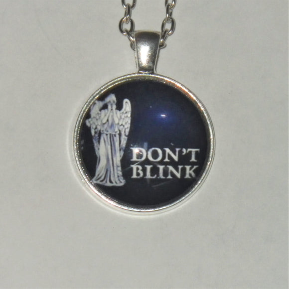 Dr. Who Weeping Angel & Tardis Cabochons