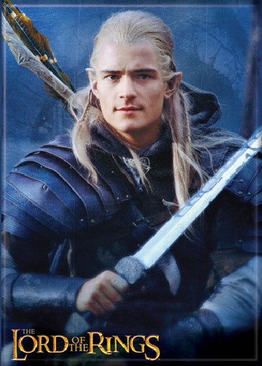 Lord of the Rings Legolas Greenleaf Photo Magnet