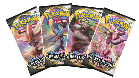 Pokémon TGC: Sword & Shield Rebel Clash Booster Pack