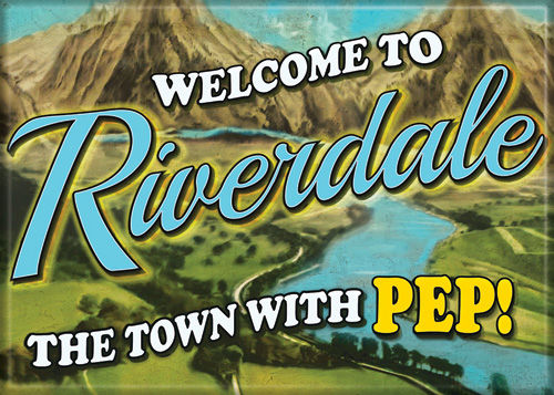 Riverdale The Town with Pep Photo Magnet