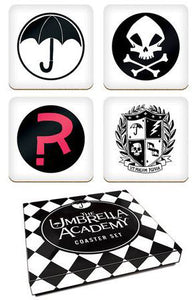 The Umbrella Academy 4pc Coaster Set