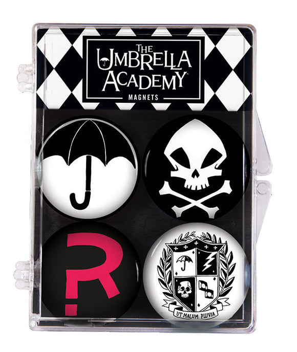 The Umbrella Academy 4pc Magnet Set