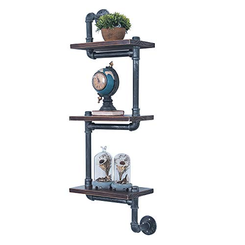Industrial Pipe Shelving Wall Mount