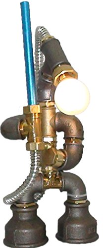 Star Wars Handmade Steampunk Industrial Style Pipe Desk Lamp