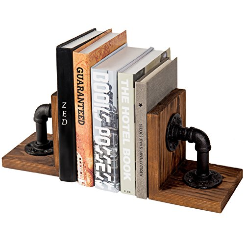 Industrial Style Book Ends