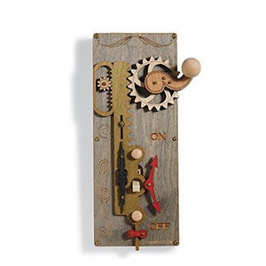Functional Steampunk Gear Light Switch Plate Cover