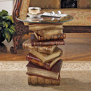 Polyresin Book End Table - 21 Inches