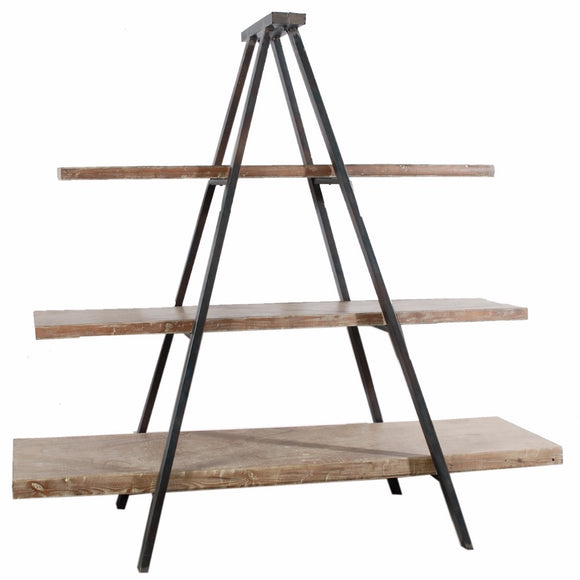 Rustically Charmed 3-Tier Ramsden Bookshelf