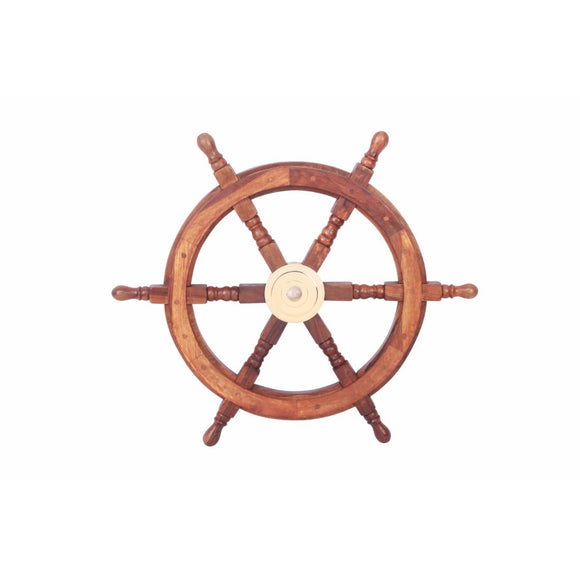 Ship Wheel, Beguiling And Glorious Naval Decor