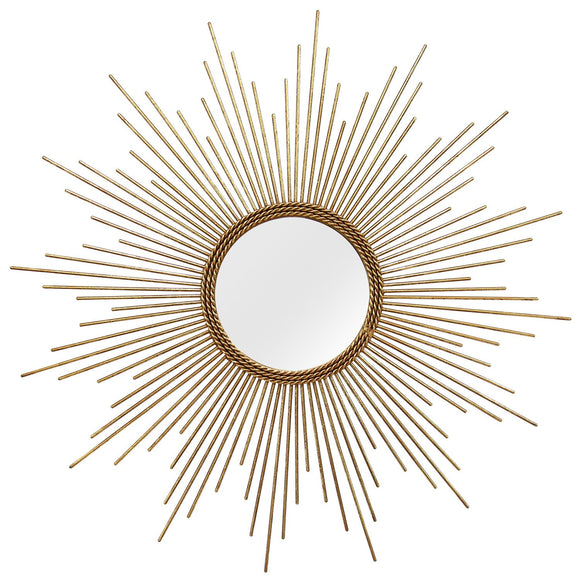 Sunburst Striking Wall Mirror