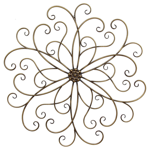 Extra Large Bronze Classic Medallion Wall Decor