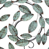 Spiral Leaf Garden Wall Decor for home or office