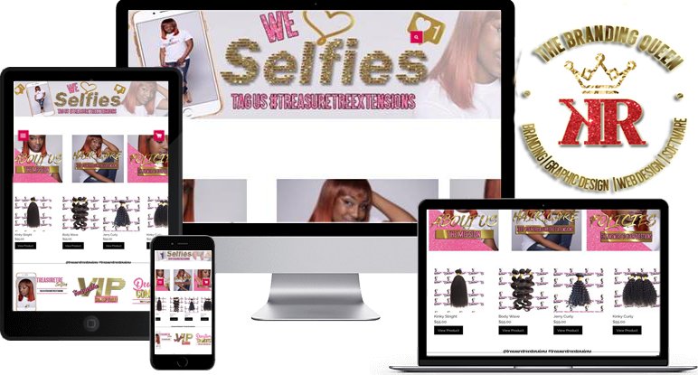 HAIR EXTENSIONS | HAIR SALON | STYLIST | NAIL TECH Website Development