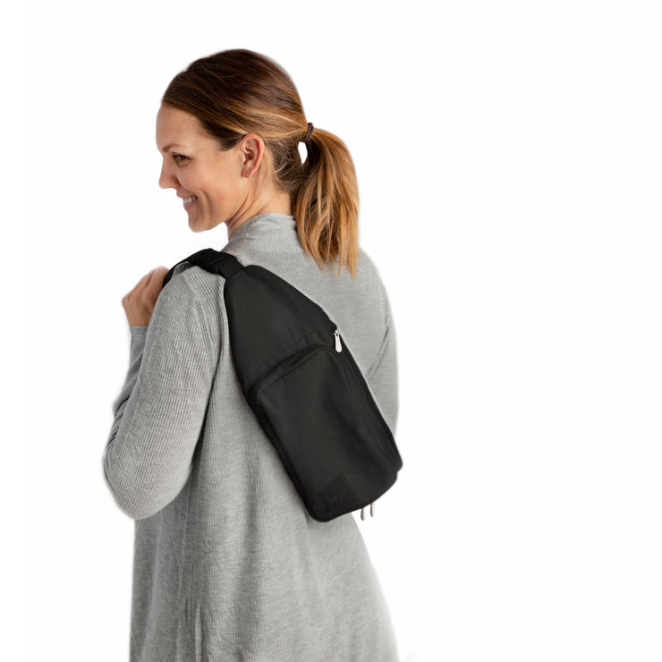 Classic Nurse-sling with Carrying Bag - Black