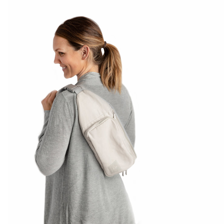 Classic Nurse-sling with Carrying Bag - Gray