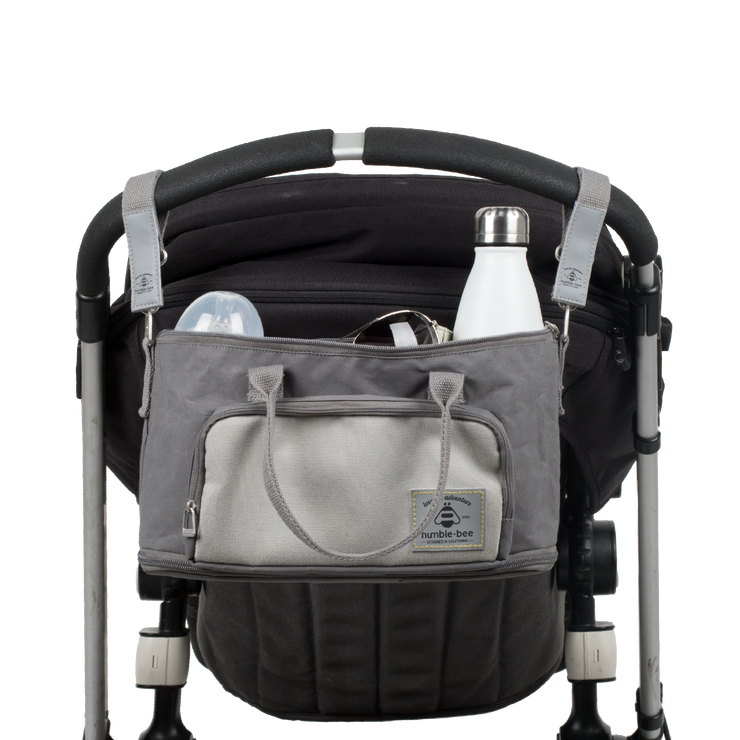 Mini Charm Diaper Bag with $10 Stroller Straps Included