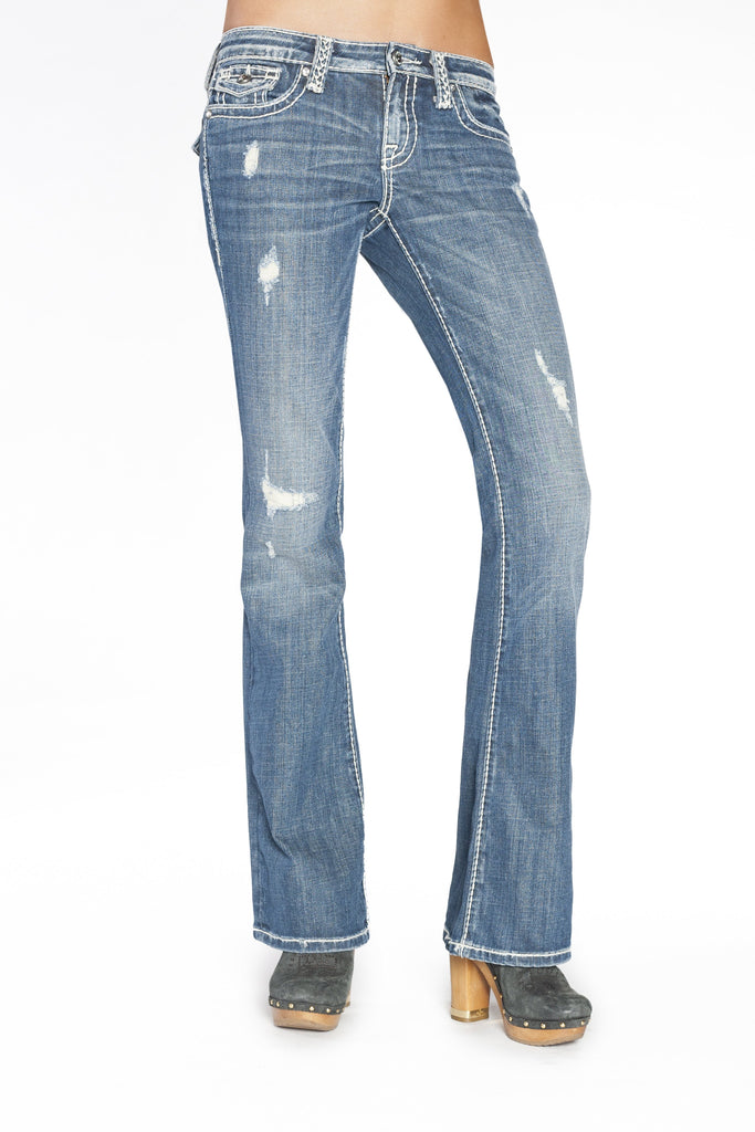 JOELLE BOOTCUT IN REFRESH - Anoname women jeans denim