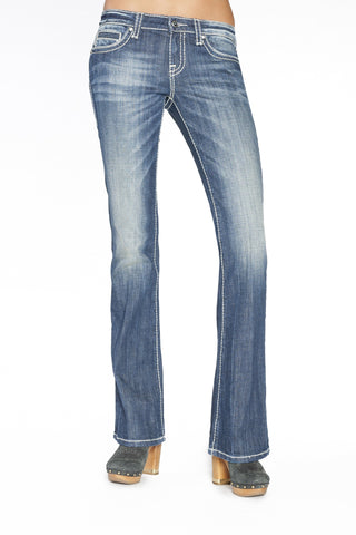 JOELLE BOOTCUT IN HERMOSA - Anoname women jeans denim