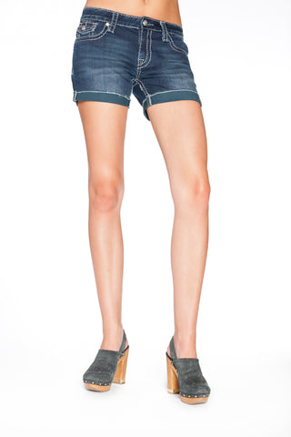 DAISY SHORTS IN PASSION - Anoname women jeans denim