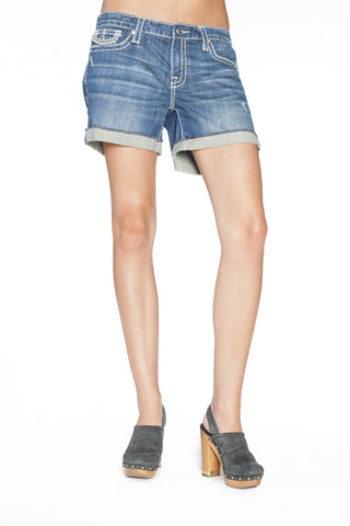 BECCA BOYFRIEND SHORTS IN MONA - Anoname women jeans denim