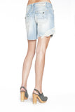BECCA BOYFRIEND SHORTS IN OCEAN - Anoname women jeans denim