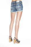 DAISY SHORTS IN MEDIUM STONE - Anoname women jeans denim