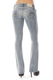 JOELLE BOOTCUT IN TRUE BLUE - Anoname women jeans denim