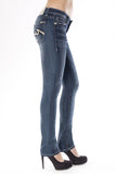 PARIS SKINNY IN GUMMY - Anoname women jeans denim