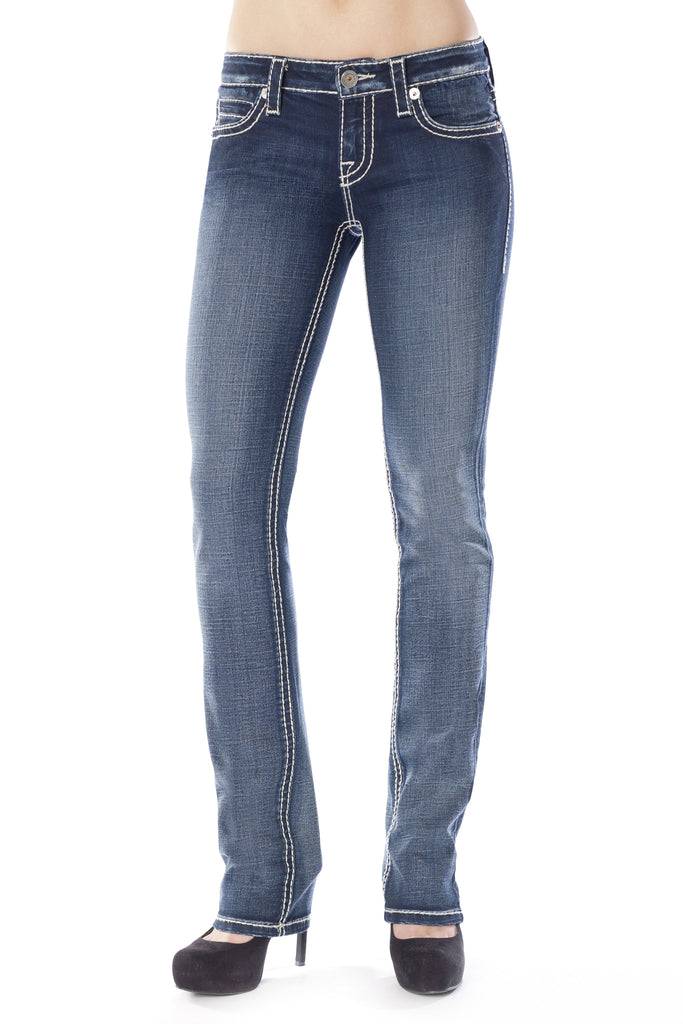 CHRISSY STRAIGHT IN CANDY - Anoname women jeans denim
