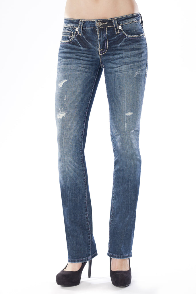 KARINA CURVY IN FOCUS - Anoname women jeans denim