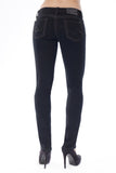 GISELLE SLIM CURVY IN BLACK - Anoname women jeans denim