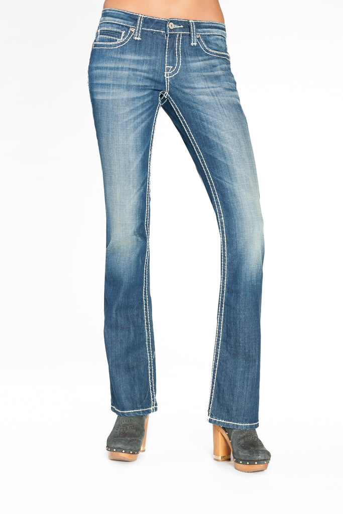 KARINA CURVY IN HERMOSA - Anoname women jeans denim