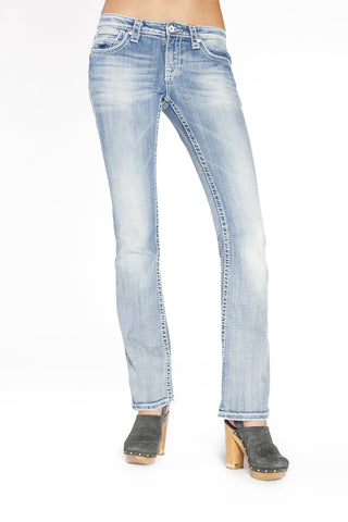 KARINA CURVY IN TRUE BLUE - Anoname women jeans denim