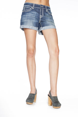 ZOE SHORTS IN HERMOSA - Anoname women jeans denim