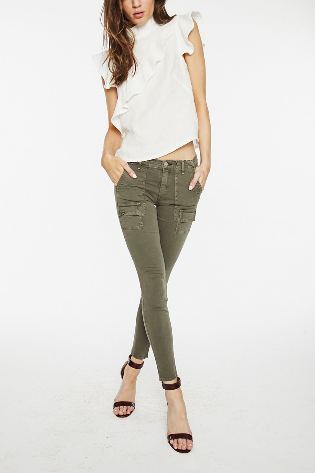 Alesandro Flight Pant in Lindberg Green