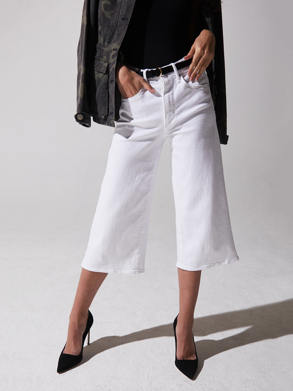 Bessette Culotte in White Lie