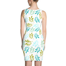 Green leaves pastel, summer dress - Pastel wear