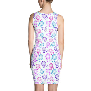 Dreamcatcher Print Dress