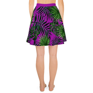 Sporty Jane Print Skater Skirt