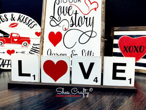 Love/Home Tile Kit
