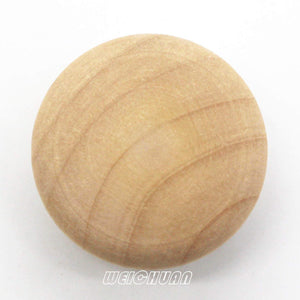 Unfinished Wood Knob