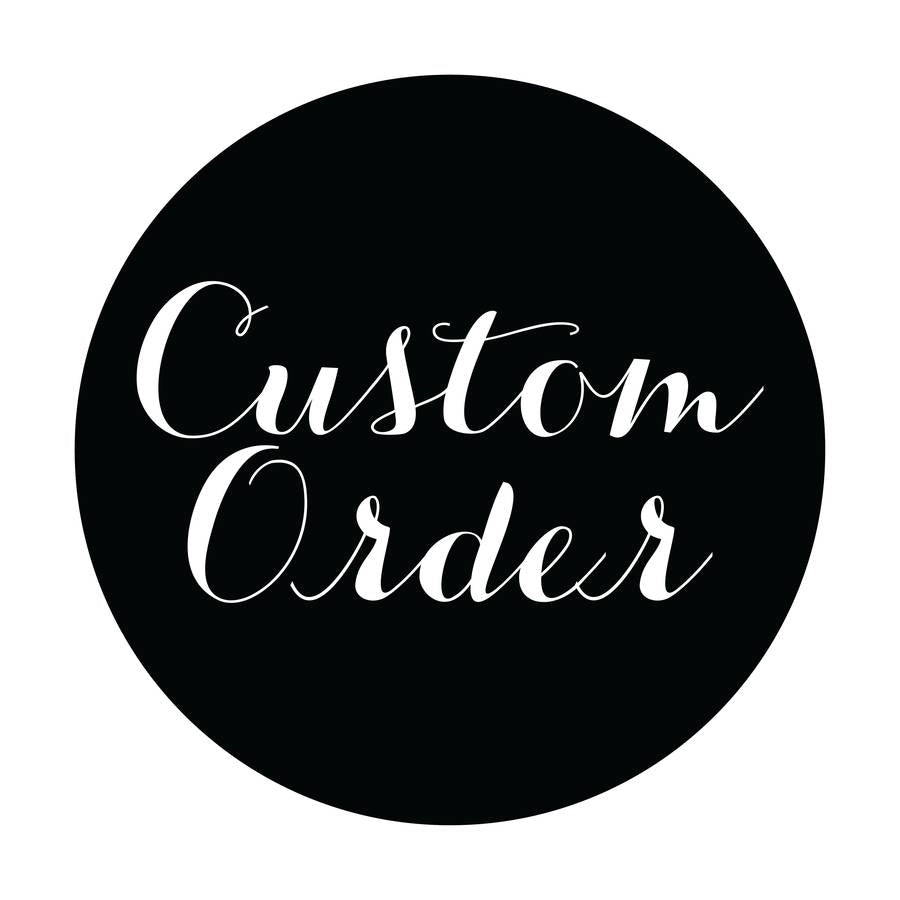 Custom Order Sign & Deco Mesh Wreath Kit