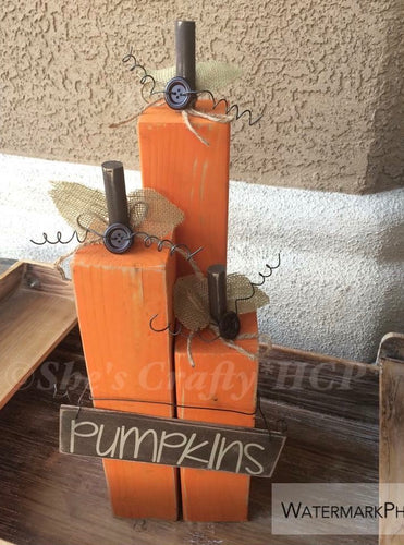 Pumpkins Blocks Kit