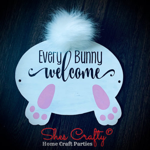 Every Bunny Welcome Bunny Butt Shape Kit