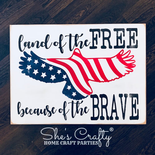 Land of the free, because of the Brave Kit