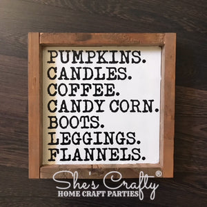 Fall Checklist Kit