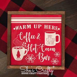 Coffee & Hot Cocoa Bar Kit