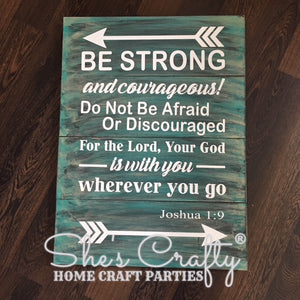 Be Strong and Courageous Kit