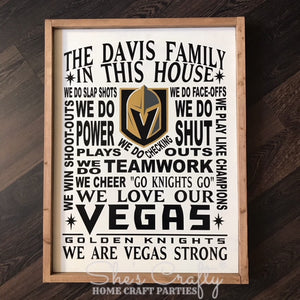 VGK Inspired Family